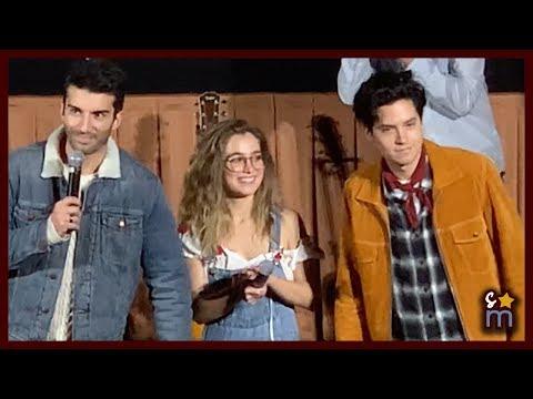 Cole Sprouse & Haley Lu Richardson Surprise FIVE FEET APART Audiences With Justin Baldoni