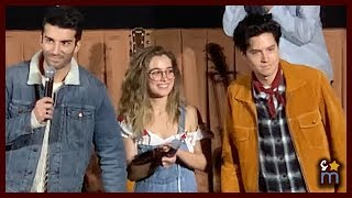 Cole Sprouse & Haley Lu Richardson Surprise FIVE FEET APART Audiences With Justin Baldoni