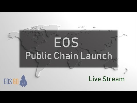 It's time to launch the chain! - EOS Public Chain Launch - Live Stream