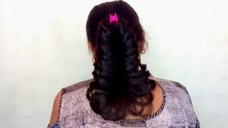 Easy Hairstyle For Short Hair 2019 || Best Hairstyle For Girls 2019 || Gold Star Fashions