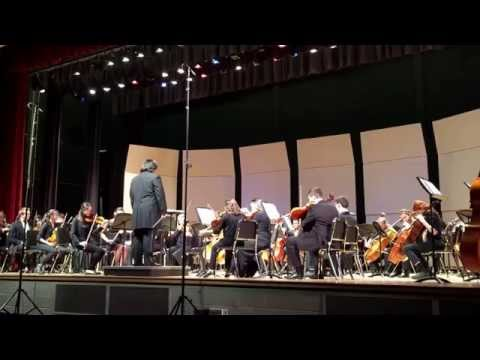 Beethoven's 5th played by the Springfield Symphony Youth Orchestra at 2014 Season premiere.