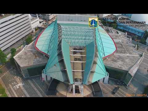 Hasil Drone DCKTRP Pemprov DKI Jakarta : Opera Jakarta