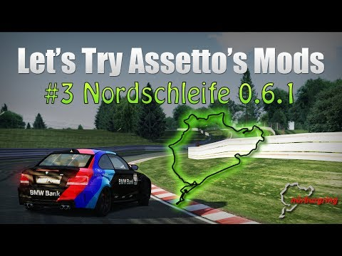 Let's Try Assetto's Mods - #3 Nordschleife 0.6.1 Snoopy - AC 0.9.13 -Triple Monitors Eyefinity