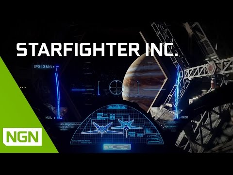 Starfighter Inc. - story-driven, multiplayer space warfare! (Interview with Nvidia)