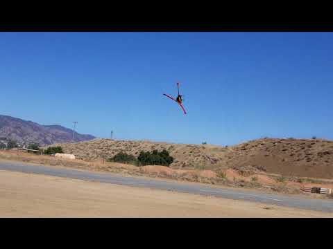 Blade 230S V2 compared to V1 in flight - Rescue demo