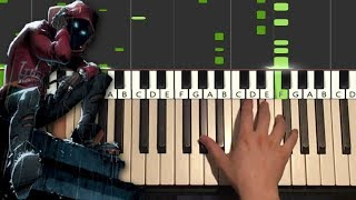 A Boogie Wit Da Hoodie - Look Back At It (Piano Tutorial Lesson)