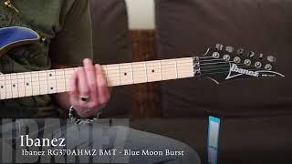 Ibanez RG370AHMZ BMT Electric Guitar & Cort CM15R Black Amp