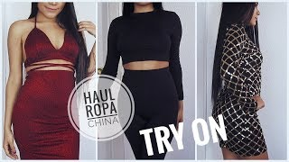 COMPRAS ALIEXPRESS | ROPA Y ZAPATOS | FASHION HAUL (TRY-ON)
