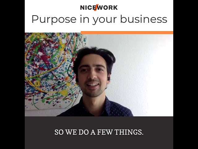 How to integrate purpose into your company
