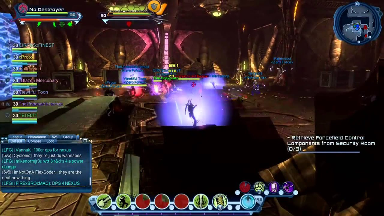 dcuo dangerous nature dps loadout revamp youtube