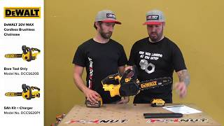 DeWALT 20V MAX Cordless Brushless 12-Inch Chainsaw | The Tool Nut