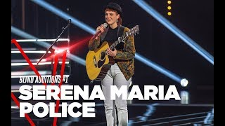"Serena Maria Police ""Pumped Up Kicks"" - Blind Auditions #1 - TVOI 2019"