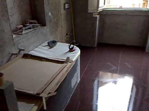 Bagno con vasca in muratura - YouTube