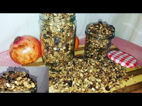 Musli granola youtube for Cuisine olfa