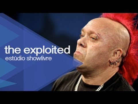 """""""Beat the bastards"""" - The Exploited no Estúdio Showlivre 2013"""