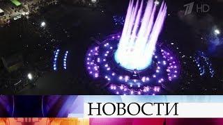 В Ставрополе появился светомузыкальный фонтан.