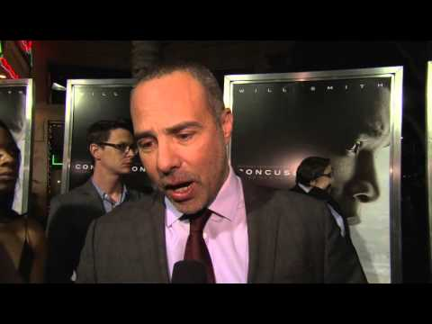 Concussion: Director Peter Landesman LA Red Carpet Movie Premiere Interview