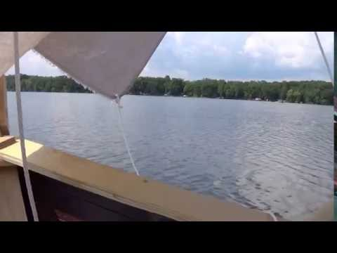 DIY square rigged sailboat