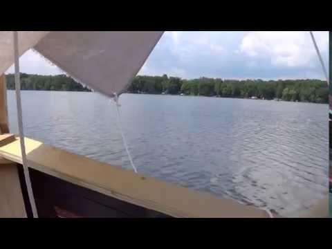 DIY square rigged sailboat