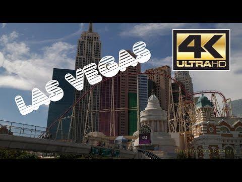 Walking the Las Vegas Strip in 4k