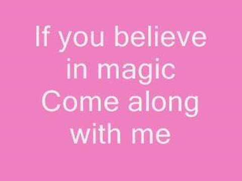 Aly & Aj  Do you believe in magic + lyrics