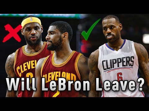 Will LeBron James LEAVE The Cleveland Cavaliers If They Get Swept By The Warriors In The Finals?