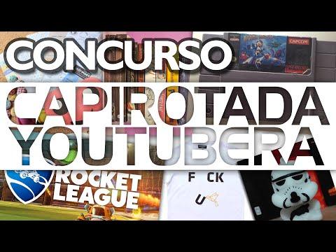 ¡Concurso! Llévate un Rocket League y 7 premios más - #CapirotadaYoutubera