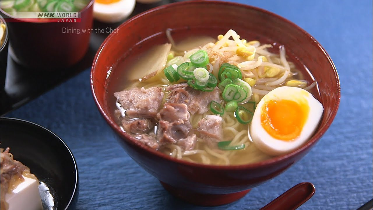 Photo of Chef Rika's Shoyu Ramen [Japanese Cooking] – Dining with the Chef – video