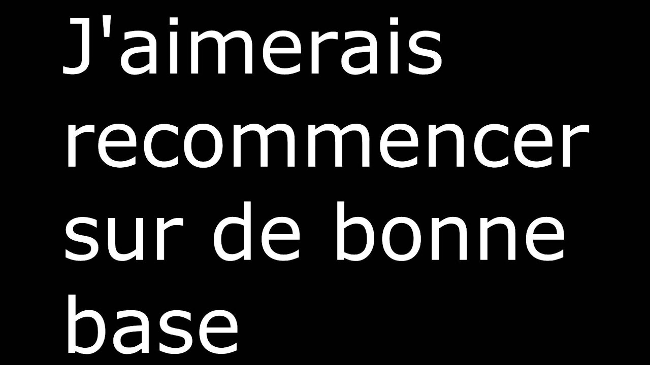Je Change de Chaîne Youtube (Check the desc')