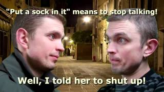 Funny English Phrases: Discussing Relationship