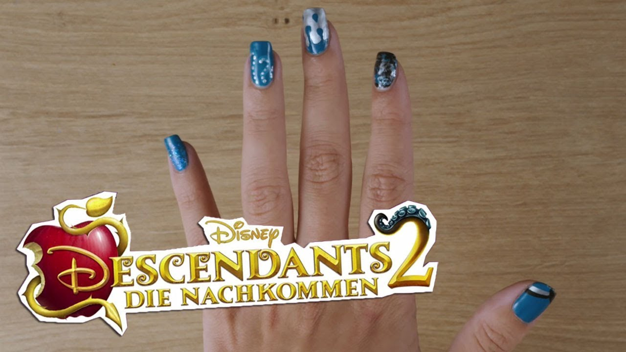 Disney\'s Nail Art - Inspiriert von Uma: Descendants 2 | Disney ...