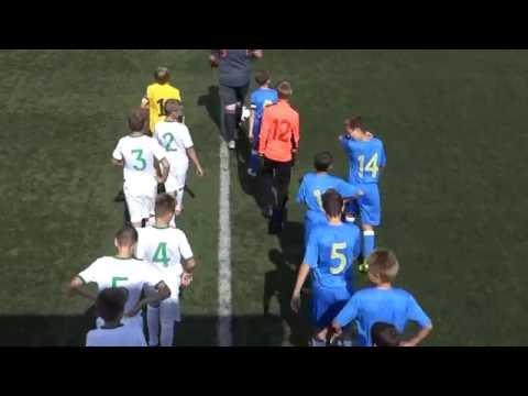 1. liga MNZ U13: Domžale - Olimpija Ljubljana 4:0 (3:0)