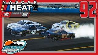 THE 360 WOOP-DE-DOOP |Xfinity Playoff Race 6/7| NASCAR Heat 2 Career Mode S3. Episode 92
