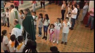 Eucaristía de presentación nuevos sacerdotes parroquia Santa Bárbara - Enero 14 de 2018