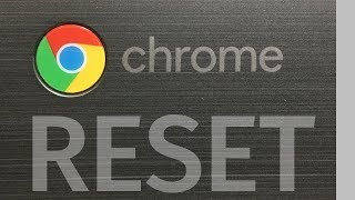 How to Reset a ChromeBook - Factory Reset - Wipe personal data - delete all information