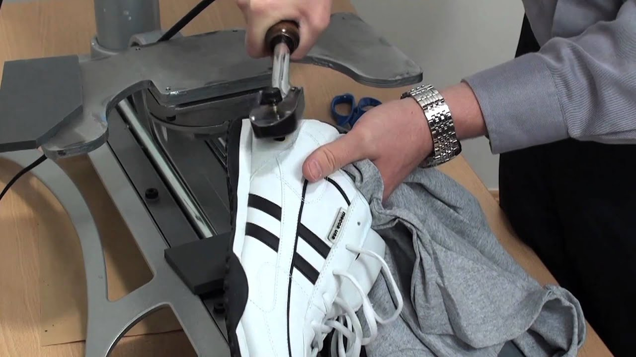 Customizing Footwear With Heat Press Transfers Youtube