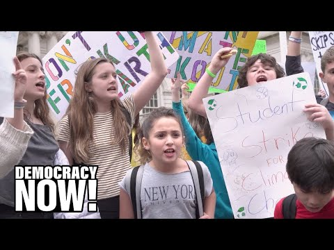 A Global Strike for Climate Change: 1.4 Million Students Walk Out of Class Demanding Action