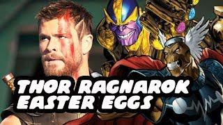 Thor Ragnarok Movie Easter Eggs!