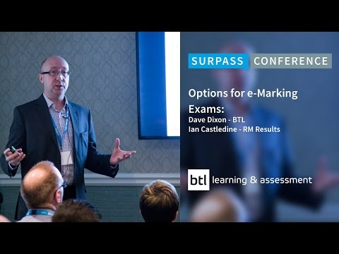 Options for e Marking Exams