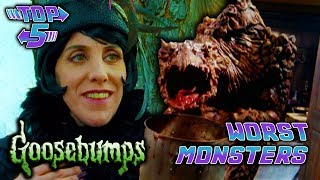 Top 5 Worst Goosebumps Monsters
