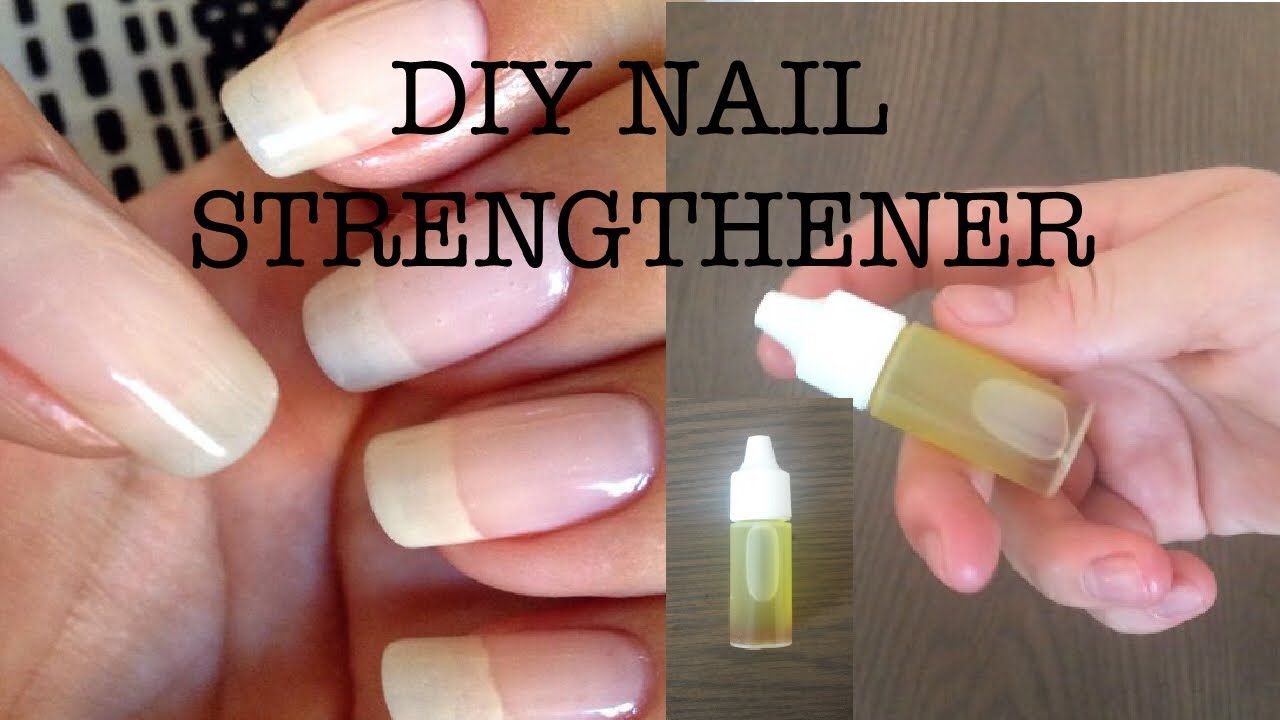 DIY NAIL STRENGTHENER(natural)!!! - YouTube