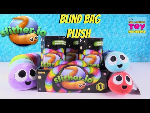 Slither.io Mystery Slither Plush Series 1 Full Case Opening Toy Review | PSToyReviews
