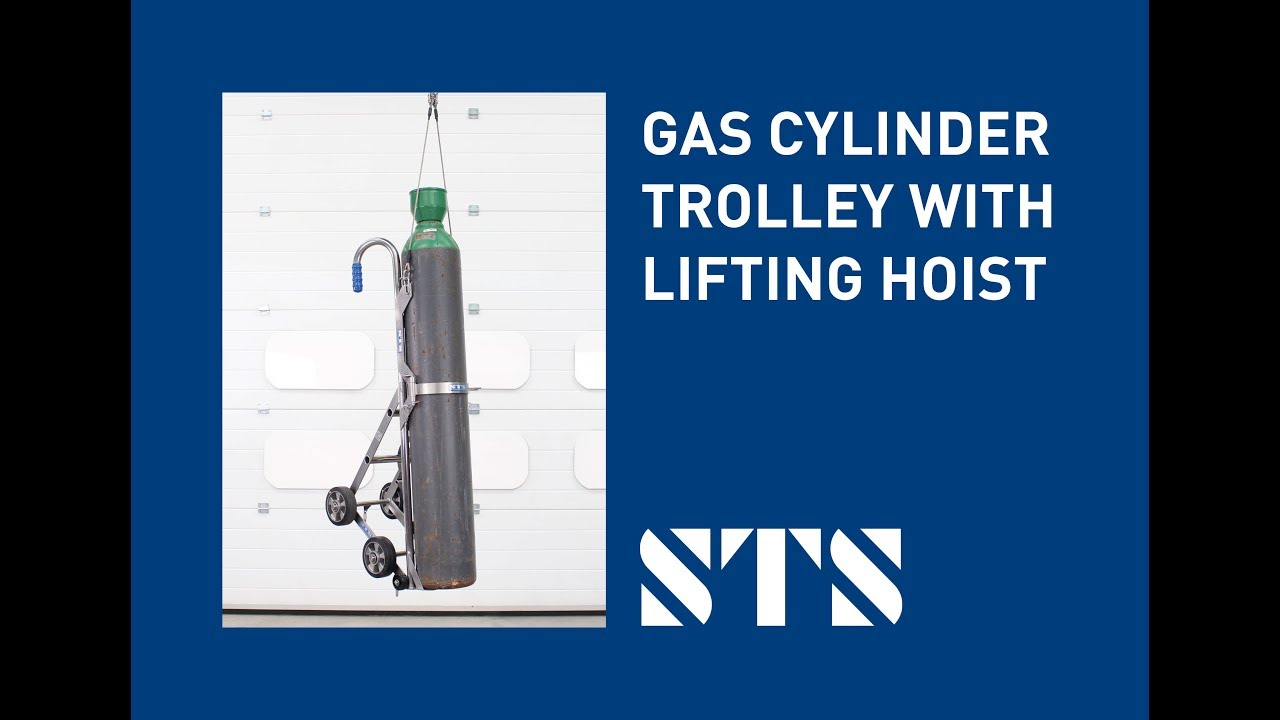 Gas Cylinder Trolley with Lifting Hoist (Model: CTS02)