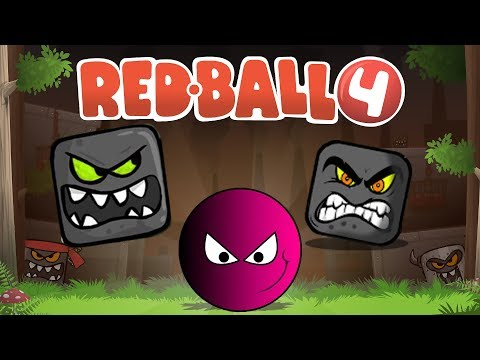 RED BALL 4 ✔ RED BALL VS EVIL MINIONS + BOSS | DEEP FOREST - Red Ball 4 Gameplay (Level 25 - 30)