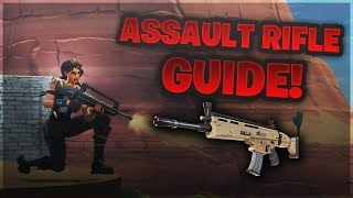 This Tip Will Make You Aim Like A God On Controller | Fortnite Battle Royale Assault Rifle TIps