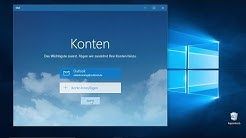 Ein E-Mail-Konto einrichten | Auszug aus: Windows 10 – Der verständliche Videolernkurs