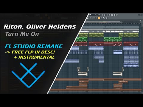 Riton, Oliver Heldens - Turn Me On (Instrumental) [REMAKE + FREE FLP]