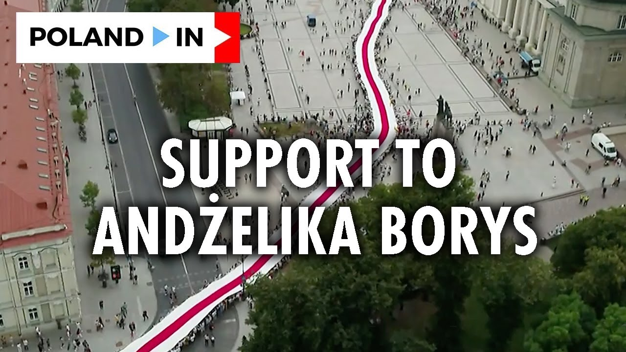 SUPPORT TO ANDŻELIKA BORYS – Poland In