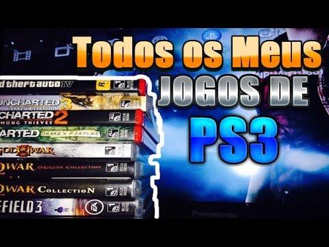 Todos os Meus Jogos de PS3! Atualmente
