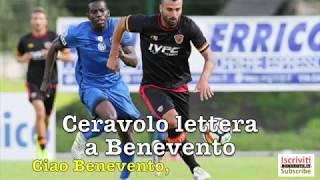 Ceravolo lettera a Benevento (bellissima)